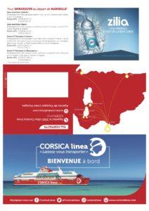 CorsicaCom-Agence média-régie publicitaire-publicité Corse – Pub Bateau Pochette billet zilia