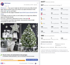 CorsicaCom-Agence média-régie publicitaire-publicité Corse campagne Pub reseaux-sociaux-jeu radio facebook