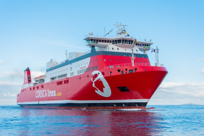 Bateau Vizzavona_navire Corsica Linea